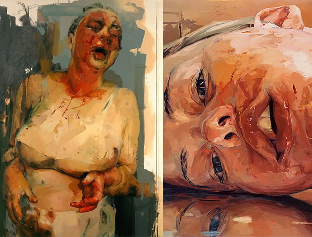 jenny saville paintings
