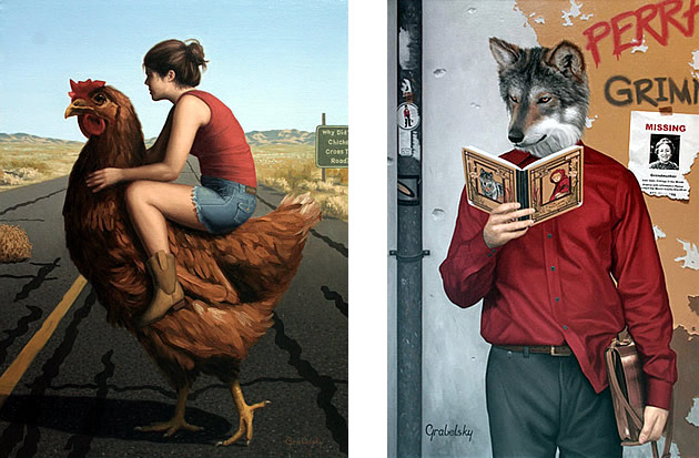 Matthew Grabelsky surrealist art