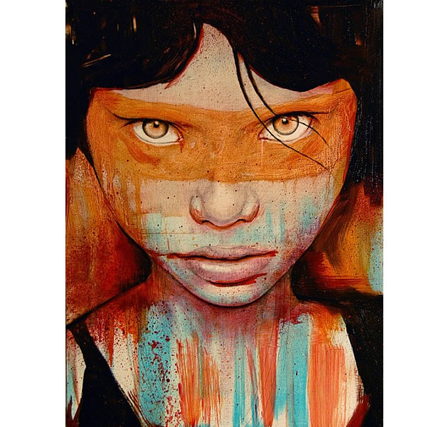 art by michael shapcott - contemporary portrait