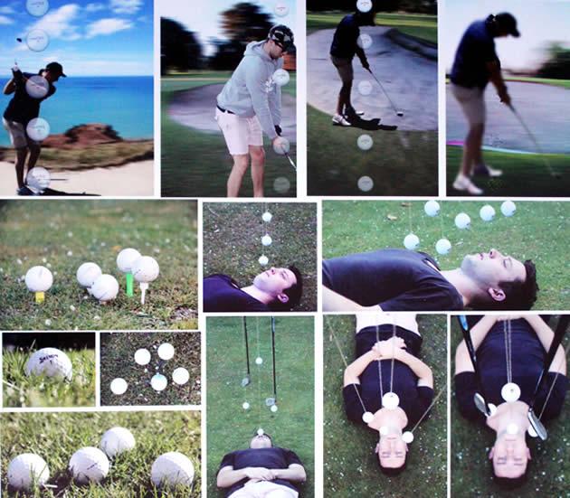 NCEA Level 3 Photography - golf theme