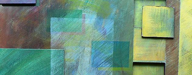 painting on cardboard