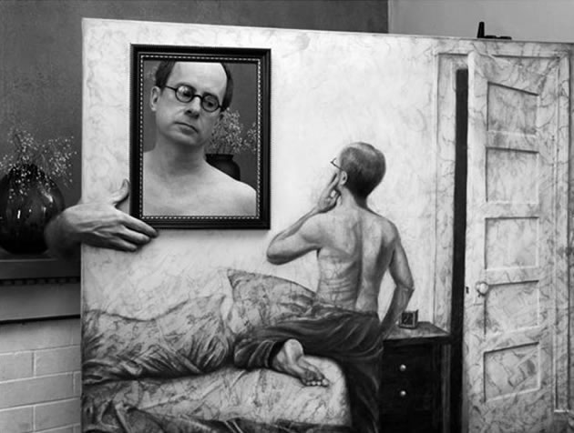 painting photography illusion by Gregory Scott