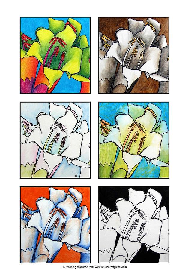 art teacher handout - the effect of colour