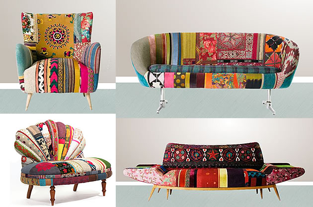 upcycled furniture by Bokja