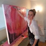 NCEA Art tutor Natalie Parker