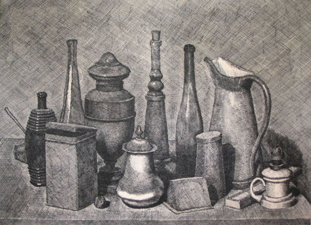 Famous Line Artists Names : Still life drawing ideas for art students