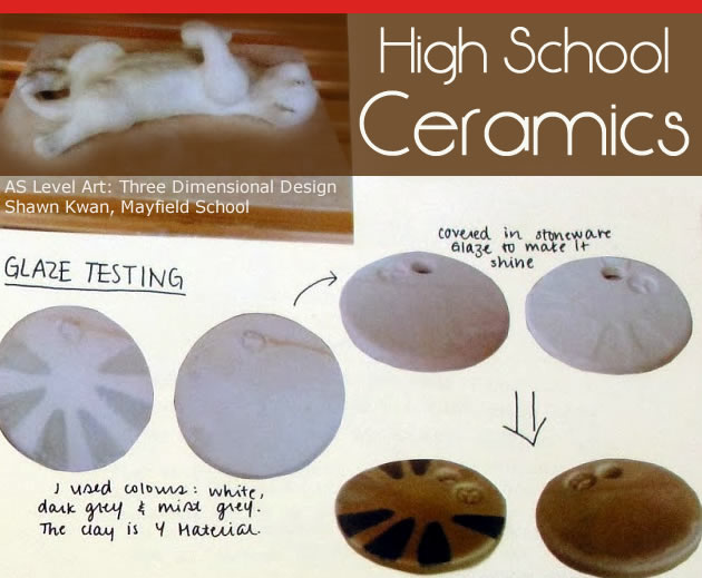 high school ceramics classes