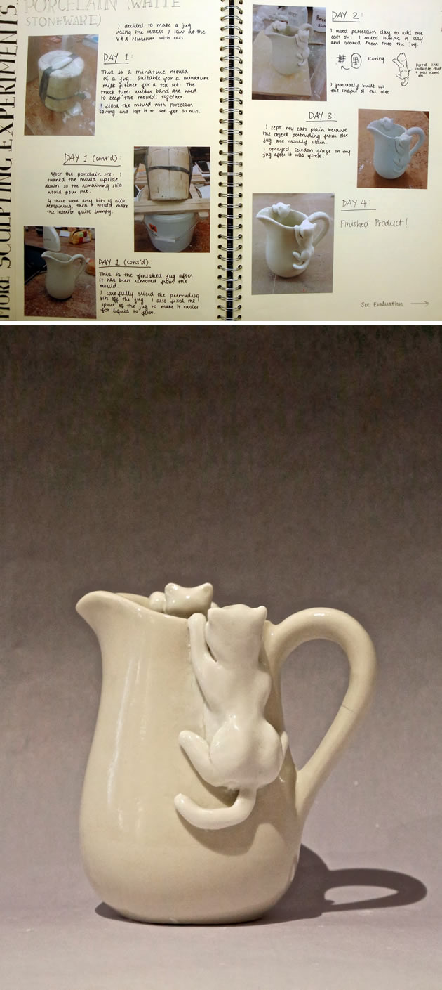 Porcelain pottery A Level