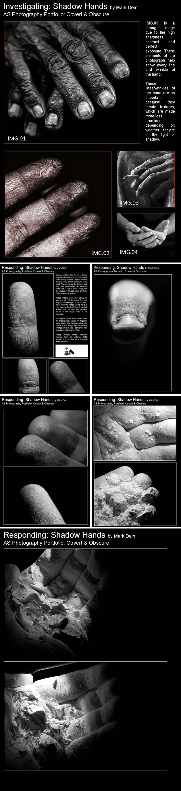 creative photography of hands
