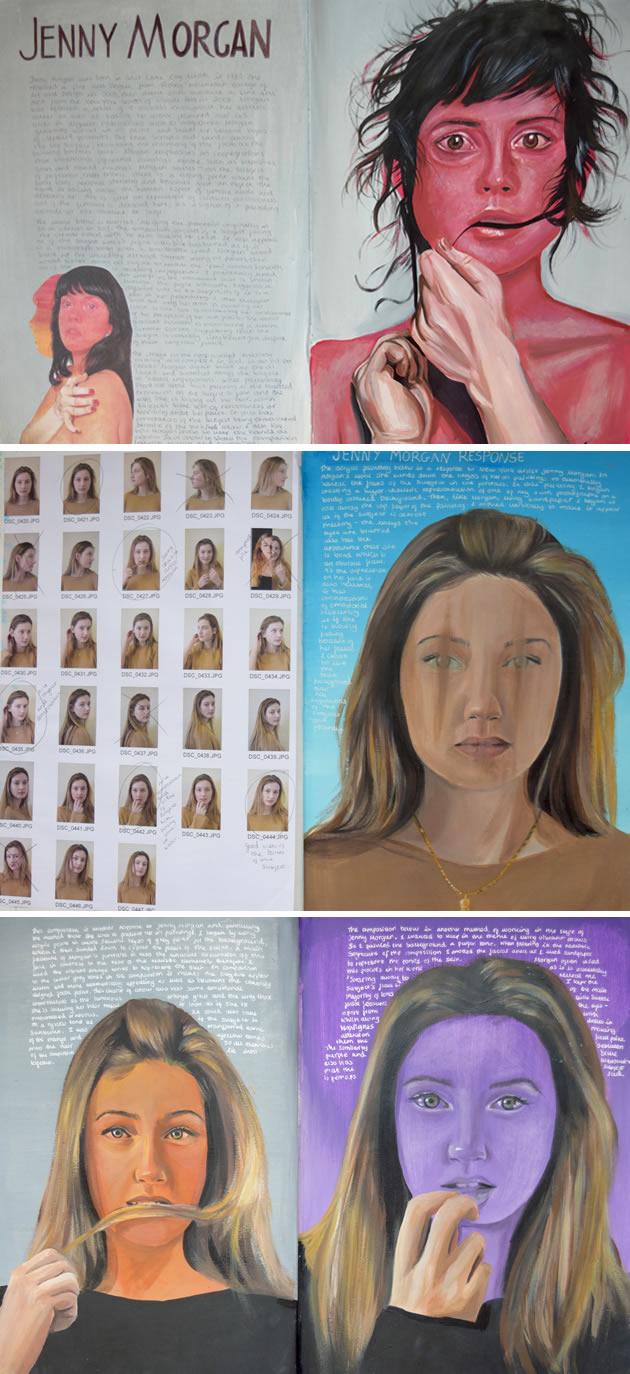 Jenny Morgan artist study