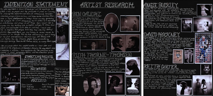 artist research A Level Photography