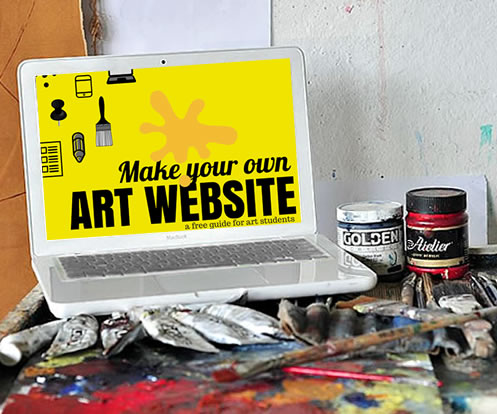 Make artist website