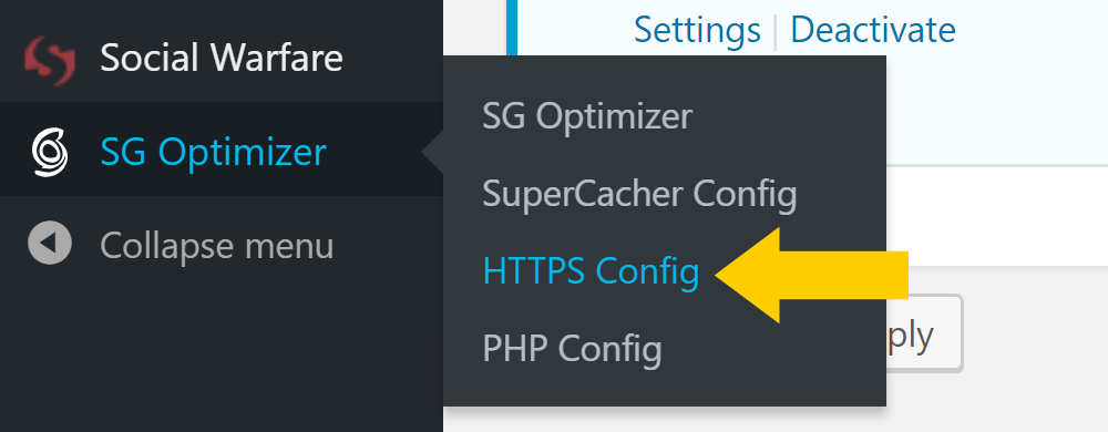 Changing from http to https at SiteGround